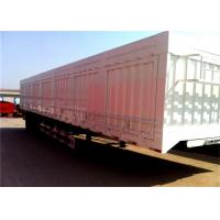 Best Automatic air brakes Painting semi box trailer for bulk cargo transportaion wholesale