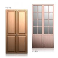 China Classic Soft Close Hinges Wardrobe Hinged Doors , Bedroom Closets And Wardrobes on sale