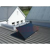 China Aluminum Alloy Solar Water Heater Blue Titanium Absorber Flat Plate Solar Collector on sale