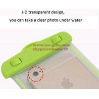 Waterproof soft clear PVC phone pouch bags case for samsung galaxy s8 J5 J7 J3