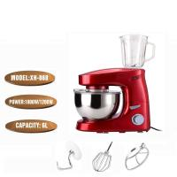 Best Household Plastic 1200Watt Spray Red Multifunction Stand Mixer With Blender wholesale