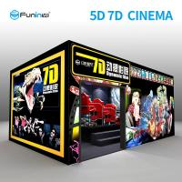 China 220V 8.0kw 7D Movie Theater Interactive Full Motion Cinema Seat 5D 12D Hologram Technology on sale