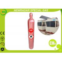 China CH4 Organic Gases Gas / Methane Natural Gas Cas 74-82-8 Flammable on sale