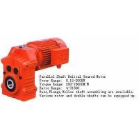 Best Parallel Shaft Helical Geared Motor wholesale