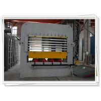 Best Short Cycle Laminate Hot press Machine With Multi Layer For Wooden Job Veneering wholesale
