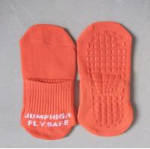 China Fashion Jumping Socks Beans Slipper Socks Trampoline Bounce Socks Custom Design on sale