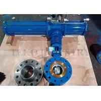 Best Triple Offset Metal Seated Eccentric Butterfly Valve Pneumatic Operated wholesale