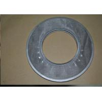 China Industries Stainless Steel Wire Mesh Filter Disc Round Shape With Hole on sale