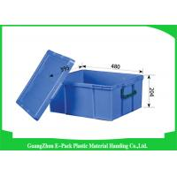 Logistics Virgin PP Stackable Plastic Containers , Standard Industrial Storage Bins