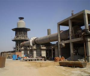 China Complete Production Laterite Nickel Calcination Rotary Kiln 12000t/D on sale