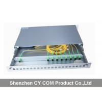 Buy cheap 19 Inch Wavelength Division Multiplexer Module Rack Mounted Slidable Type Metal from wholesalers