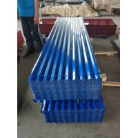 Buy cheap 24 Gauge Metal Roofing Sheets , ASTM CGCC Galvanized Corrugated Panels from wholesalers