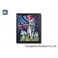 Best HD 3D Lenticular Pictures With CMYK Printing / Lenticular Photo Printing wholesale
