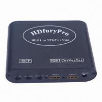 Best HDMI® to VGA Video Switch with 2 x HDMI Input and YPPBR Output Box wholesale