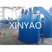 China Plastic PET Bottle Recycling Machine Plant  Water cooling tank Double station on sale