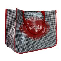 Best Environmental Water Proof PP Woven Shopping Bags With 4C Printing wholesale