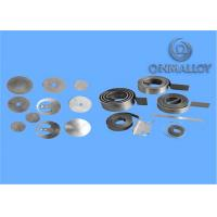 Water Heater Elements Bimetallic Material 1.0mm Thickness With Spool / Coil
