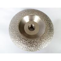 Best Vacuum Brazed Diamond Grinding Cup Wheel , 4.5 Concrete Grinding Disc for Stone wholesale