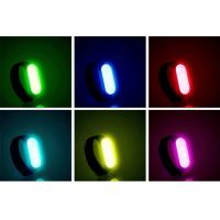 Best wholesale  LED Safety Bracelet For Running At Night  LED Gift Band  rechargeable with usb cable Fully adjustable wholesale