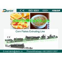 China Continuous Corn Flakes Processing Line Corn Flakes Machinery wholesale