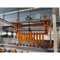 Best W2570mm 380V Hoist AAC Block Making Machine For Finished Concrete wholesale