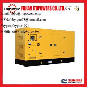 Best 160kw/200kva Soundproof type Cummins diesel generator ! wholesale