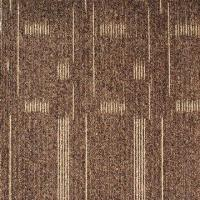 China 100% PP High and Low Loop Carpet Tiles with PVC Backing on sale