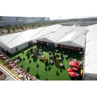 Best Huge Outdoor Event Tents with Decoration and AC System For Outdoor Exhibition / Conference / Party / Trade Show wholesale