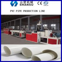 Best Screw Core Cooling Plastic Pipe Extrusion Machine , PVC Pipe Manufacturing Machine wholesale
