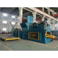China Hydraulic Drive Fully Automatic Horizontal Baler 55 Kw High Production Rate on sale