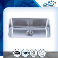 Best Customized Single Bowl Undermount stainless steel kitchen Sink with satin finish wholesale