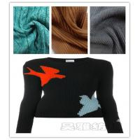 Lion brand supplier offer new arrial melange cotton acrylic air fashion sweater