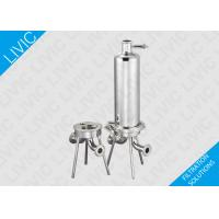 Best Inline Water Filter Cartridge , Cartridge Pool Filters With Quick Open Design wholesale