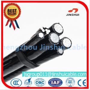 Best Xlpe Insulation Aluminum Overhead Power Cables 6 AWG Size Excellent Corrosion Resistance wholesale