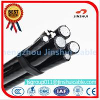 Buy cheap Xlpe Insulation Aluminum Overhead Power Cables 6 AWG Size Excellent Corrosion from wholesalers