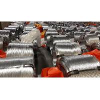 Best EN10257 Non - Alloy Galvanized Steel Wire , Zinc Coated Wire For Armoring wholesale