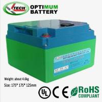 Best Deep Cycle  Lifepo4 Rechargeable Battery  12V 30Ah For Street Light wholesale