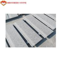 China Polished G603 Granite Paving Stone , G603 Natural Surface Paver For Countertop on sale
