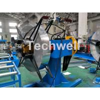 China Manual / Hydraulic Double Head Decoiling Machine With 0-15m / Min Uncoiling Speed on sale