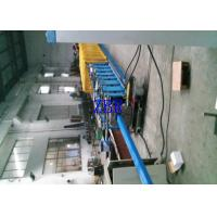 Best Rectangle Steel Downspout Roll Forming Machine 330mm Feeding Width wholesale
