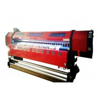 Best Flex Banner Double Head Large Format Digital Printing Machine 126 Inch Wide Format wholesale