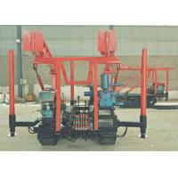 China 30-100MDiesel Mining Drill Rig , Portable Core Drilling Machine on sale