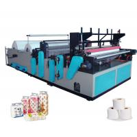 Best Full-automatic High-speed Rewinding And Perforating Small Toilet Paper Making Machine wholesale