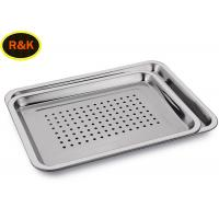 Best Perforated Wire Mesh Filing Trays , Wire Mesh Storage Trays Surface Polishing wholesale