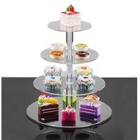 Best cheap price acrylic cakes display stand made in china plexiglass cupcake stand wholesale