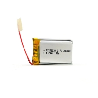 Buy cheap 350mAh 3.7 V Lithium Polymer Battery CV Charge KPL652030 from wholesalers