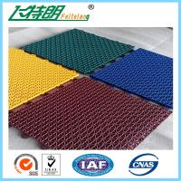 China Multi Used Interlocking Sports Flooring Rubber Playground Tiles Polypropylene on sale