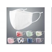 Best Polyester Cotton Cycling Washable Print Pattern Face Mask With Adjustable Ear Loop wholesale