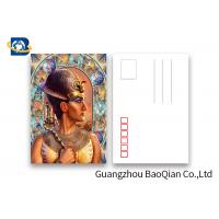 China Egypt Images 6 x 9 Inch 3D Lenticular Postcards For Souvenirs & Gifts on sale