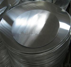 Best O H12 H14 Aluminum Round Plate , Aluminium Sheet Circle For Deep Drawings wholesale